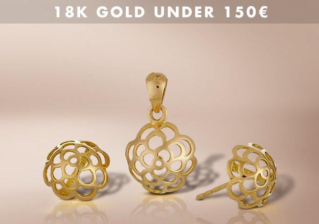 18K Gold under 200€!