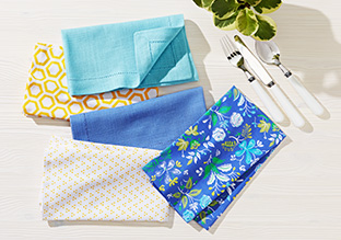 Up to 70% Off: Linens, Aprons & More!