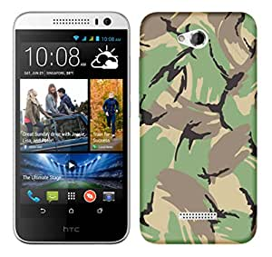 TrilMil Premium Design Back Cover Case For HTC DESIRE 616
