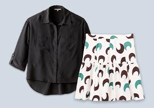Perfetto Abbinamento : camicette e gonne!