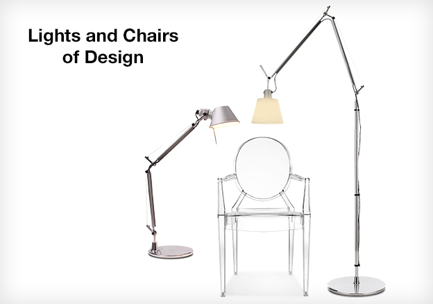 Lights and Chairs of Design