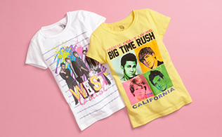 Graphic Tees: Girls' Sizes 7-16