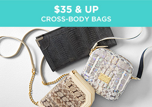 $35 & Up: Cross-body Bags