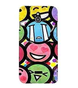 EPICCASE Emojis Mobile Back Case Cover For Infocus M2 (Designer Case)