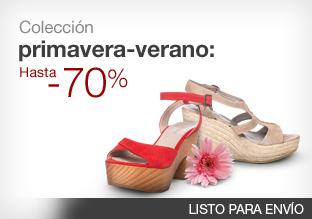 Colección primavera-verano: hasta -70%