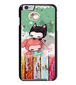 PrintDhaba Cartoon D-3157 Back Case Cover for APPLE IPHONE 6 PLUS (Multi-Coloured)