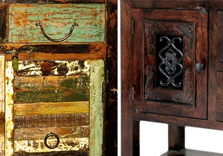 Reclaimed Refinement: Wood Furniture!