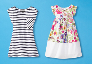 Stripes, Florals & Polka Dots: Girls' Styles