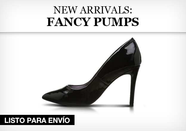 New arrivals: Fancy Pumps