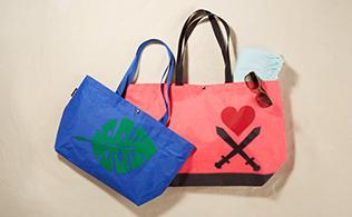 Tropical Totes: Beach Bags