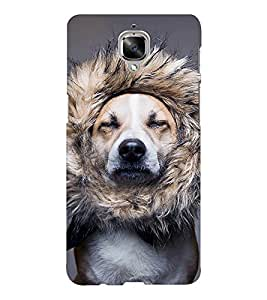 EPICCASE dog at saloon Mobile Back Case Cover For OnePlus Three (Designer Case)