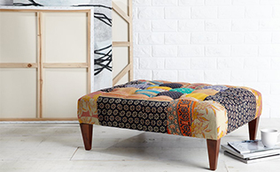 Kantha Style Chairs & Benches!