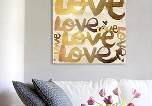 Parole di arte : Typography opere grafiche Wall Decor!