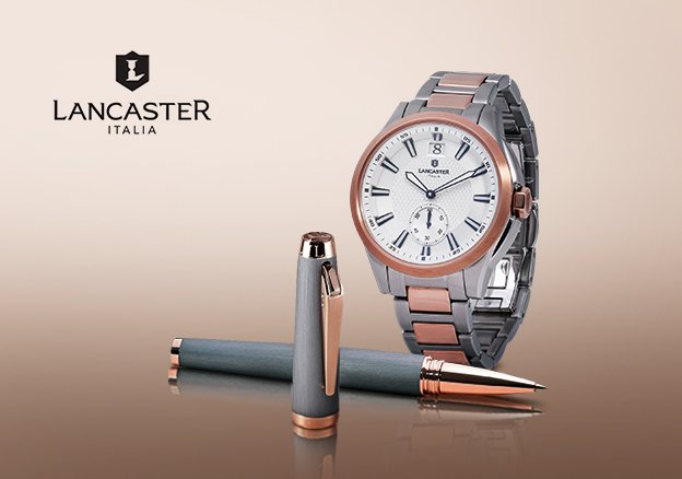 Lancaster Watches and Jewelry!