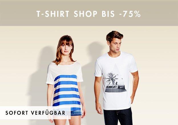 T-Shirt Shop bis -75%