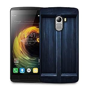 Snoogg Black Door Designer Protective Phone Back Case Cover For Lenovo Vibe K4 Note