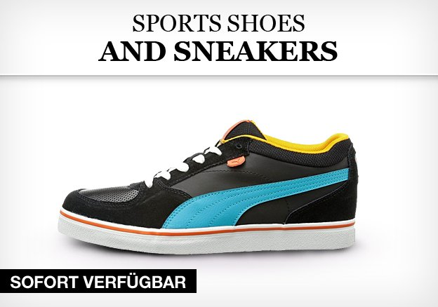 Branded sports shoes and sneakers for him