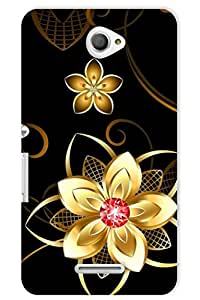 IndiaRangDe Case For Sony Xperia E4 (Printed Back Cover)