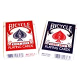 Bicycle Rider Back Poker Playing Cards - 2 Decks