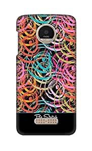SWAG my CASE Printed Back Cover for Motorola Moto Z Play