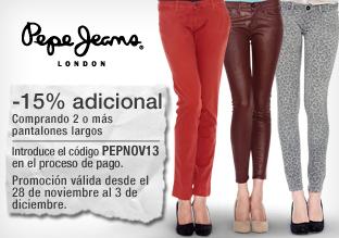 Pepe Jeans London: promoción pantalones
