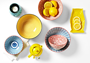 Up to 70% Off: The Colorful Kitchen