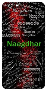 Naagdhar (One Who Wears Cobra ( Lord Shiva)) Name & Sign Printed All over customize & Personalized!! Protective back cover for your Smart Phone : Moto G-4