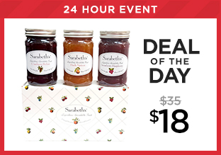 Deal of the Day: Sarabeth's Holiday Gift Box Set at $18!