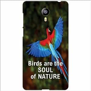 Meizu M2 Back Cover - Birds Are Souls Desiner Cases