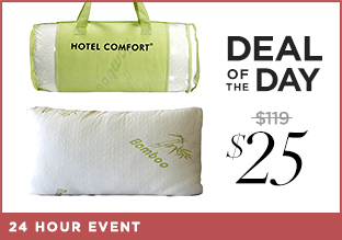 Deal of the Day: Soft & Breathable Bedding from $25!