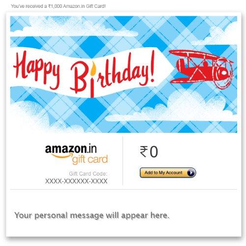 Amazon.co.uk Gift Cards & Gift Vouchers