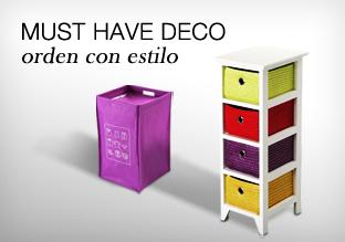 Must Have DECO: orden con estilo!