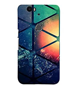 PRINTVISA Abstract Pattern Case Cover for Huawei Google Nexus 6P