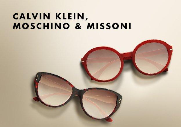 Calvin Klein, Moschino & Missoni