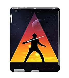 EPICCASE Action Packed Hero Mobile Back Case Cover For Apple Ipad 2/3/4 (Designer Case)