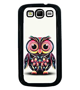 Cute Baby Owl 2D Hard Polycarbonate Designer Back Case Cover for Samsung Galaxy S3 i9300 :: Samsung I9305 Galaxy S III :: Samsung Galaxy S III LTE