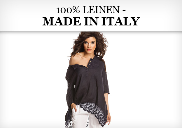 100% Leinen – made in Italy