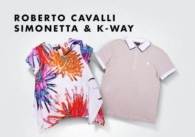 Blumarine, Roberto Cavalli, Simonetta, K-WAY