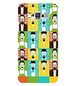 PRINTSWAG FACES Designer Back Cover Case for SAMSUNG GALAXY A3