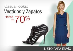 Casual looks: vestidos y zapatos hasta -70%