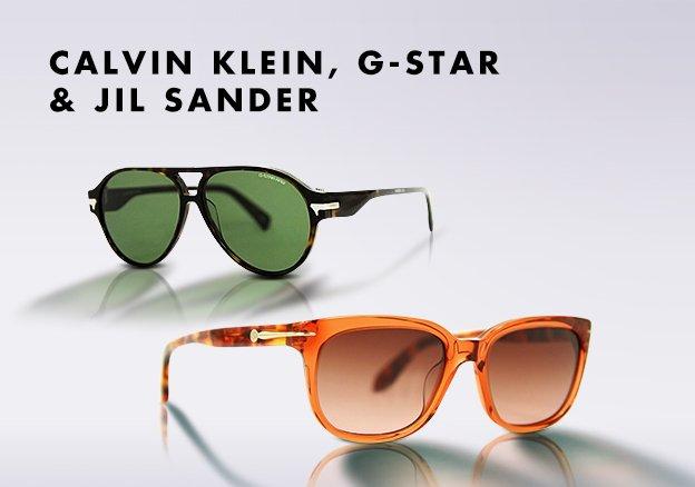Calvin Klein, G-Star & Jil Sander!