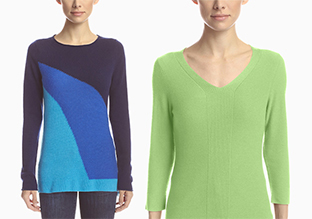 Forté Tops & Pullover inkl . Cashmere & Silk!
