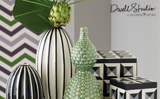 Eye-Catching Accents featuring Dwell Studio by Global Views!