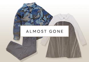 Almost Gone : Peuter kledingmaten 2-6X!