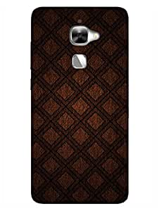 LeEco Le 2 Back Cover - Thatched Pattern - Designer Printed Hard Shell Case