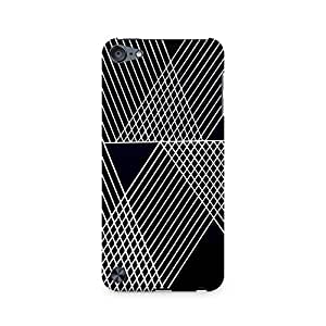 Ebby Reflecting Lines Premium Printed Case For Apple iPod Touch 6