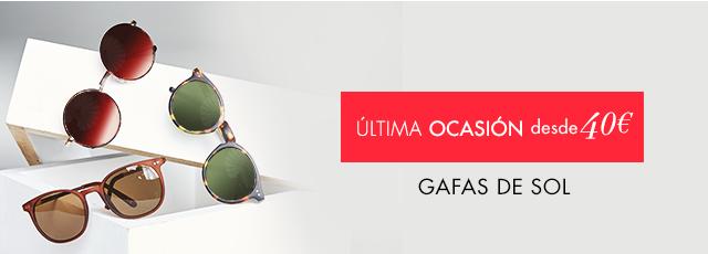 Gafas de sol a partir de 40€