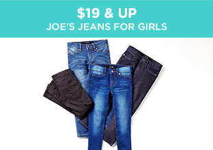 $19 & Up: Joe's Jeans for Girls