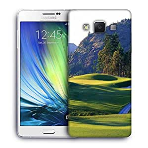 Snoogg Abstract Golf Park Designer Protective Phone Back Case Cover For Samsung Galaxy A7