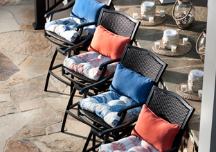 Outdoor Cushions by Pillow Perfect!